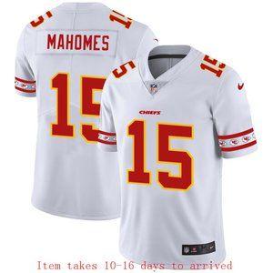 Chiefs #15 Patrick Mahomes Jersey Team Logo
